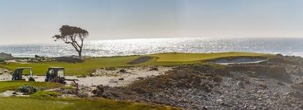 Pebble Beach Golf royalty free stock image