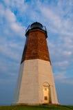 Point Judith Lighthouse, Narragansett, RI Royalty Free Stock Photos