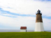 Point Judith Lighthouse. Stock Image