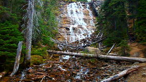Point Lace Falls Canada stock video