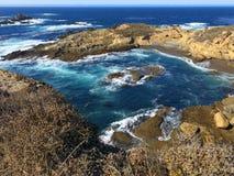 Point Lobos. Coastline in Point Lobos, California Stock Photo
