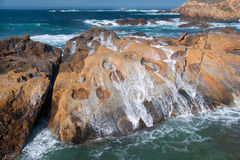 Point Lobos` Concretions Royalty Free Stock Photos
