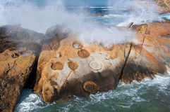 Point Lobos` Concretions Royalty Free Stock Images