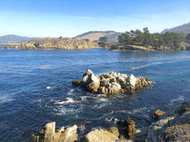 Point Lobos. The ocean shore at Point Lobos in California royalty free stock image