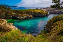 Point Lobos State Park California. China Beach Point Lobos California State Reserve Royalty Free Stock Photos