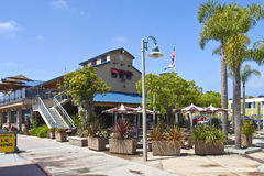 Point Loma Cafe San Diego CA. Stock Image