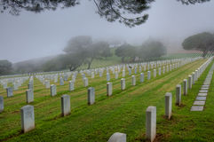Point Loma Cemetery Stock Photography