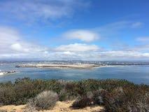 Point Loma da costa de Califórnia Imagens de Stock Royalty Free
