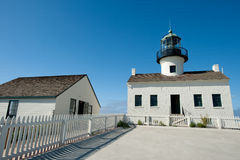 Point Loma lighthouse Royalty Free Stock Images