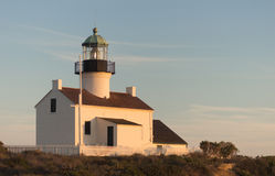 Point Loma Lighthouse Cabrillo National Monument Pacific Coast Royalty Free Stock Photos