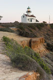Point Loma Lighthouse Cabrillo National Monument Pacific Coast Royalty Free Stock Photography