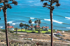 Point Loma Lighthouse, San Diego Photographie stock