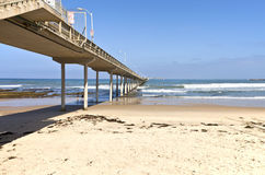 Point Loma San Diego pier and ocean california. Royalty Free Stock Photo