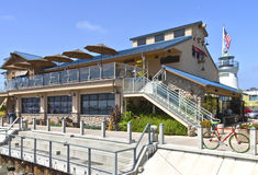 Point Loma Seafoods and cafe California. Royalty Free Stock Photos