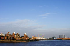 Point Londres de Blackwall Images libres de droits