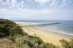 Point Lonsdale jetty, Bellarine Peninsula Royalty Free Stock Photography
