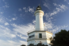 Free Point Lonsdale Lighthouse Stock Photography - 58198952
