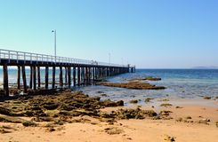 Point Lonsdale Pier stock photo