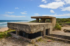 Point Lonsdale pill box royalty free stock photos