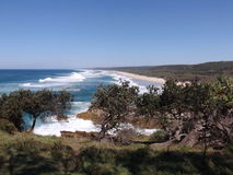 Point Lookout, North Stradbroke Island Stock Photography