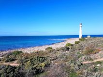 Point Lowly Lighthouse, Spencer Gulf Royalty Free Stock Photo