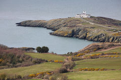 Point Lynas on Anglesey, Wales on a calm Spring day Royalty Free Stock Photo