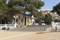 Point médical près de la ville de station balnéaire centrale de Gelendzhik Photographie stock libre de droits