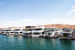 Point Marina Lake Powell d'antilope Photos libres de droits