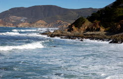 Point Montana, CA:  Pacific Ocean Seascape Royalty Free Stock Photography