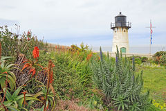 Point Montara Fog Signal and Light Station in spring Stock Photo