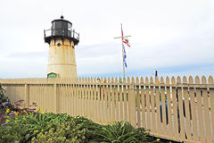 Point Montara Fog Signal and Light Station in spring Stock Images