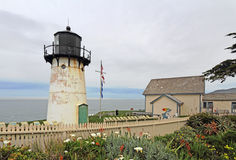 Point Montara Fog Signal and Light Station youth hostel Stock Images