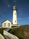 Point Montara Lighthouse. Lighthouse on coastline Stock Photo