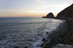 Point Mugu in the Night, CA Royalty Free Stock Image