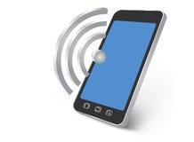 Point névralgique mobile Photos libres de droits