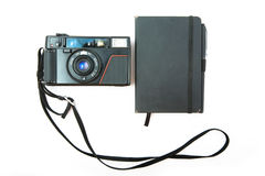 Point n shoot  camera 80x. Point n shoot hipster camera Royalty Free Stock Images