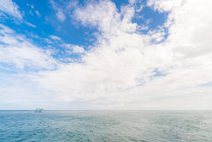 Point naviguant au schnorchel Phuket Photo stock