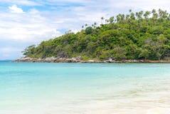 Point naviguant au schnorchel Phuket Photographie stock libre de droits