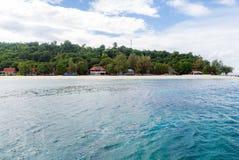 Point naviguant au schnorchel Phuket Photos libres de droits
