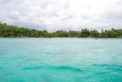 Point naviguant au schnorchel Phuket Images libres de droits
