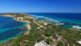 Point Nepean National Park aerial view, Victoria - Australia Stock Photography