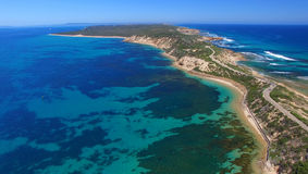 Point Nepean National Park aerial view, Victoria - Australia Royalty Free Stock Images