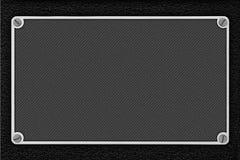 Point pattern metal sheet grey background Stock Image