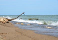 Point Pelee beach Stock Photo