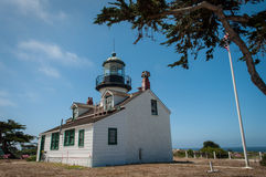 Point Pinos Historic Lighthouse Royalty Free Stock Images