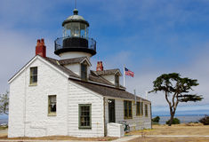 Point Pinos Lighthouse Royalty Free Stock Photos