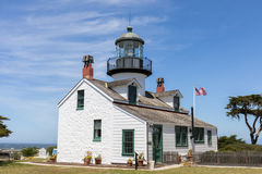 Point Pinos Lighthouse. Stock Photos