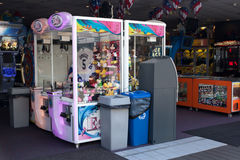 Point Pleasant Boardwalk Arcade Stock Images