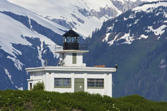 Point Retreat Lighthouse Royalty Free Stock Image