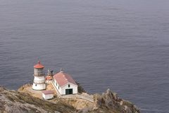 Point Reyes Light. The lighthouse at Point Reyes National Seashore in California Royalty Free Stock Photography